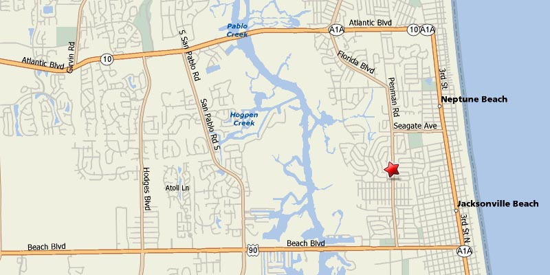 Dwights Bistro Location Map